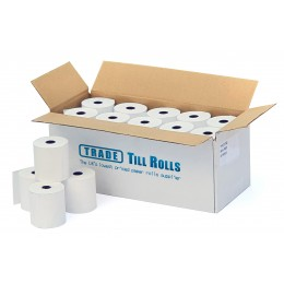 57x45 Till Rolls (20 Rolls).  Fully compatible with 57x50mm.