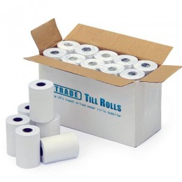 Till Rolls For Your Worldpay Terminal - 57mm x 40mm. (Box of 20)