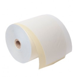 76mm 2 Ply Kitchen Printer Roll in White / Pink (Box of 20). AD27612WP